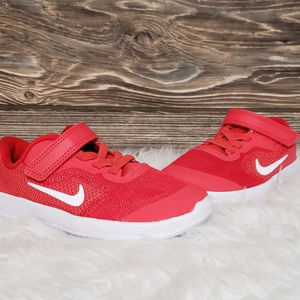 New Nike Revolution Red Toddler Sneakers